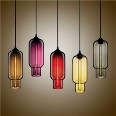 (In Stock)Modern Transparent Glass Pendant Light Hand Blown Colorful with 1 Light Dining Room Living Room Bedroom Ceiling Lights Modern Pendant Light, Glass Pendant Light, Glass Chandelier, Modern Chandelier, Glass Pendants, Modern Lighting, Pendant Lighting, Pendant Lamps, Lighting Ideas