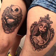 Nightmare before Christmas, tattoo
