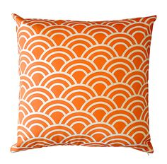 Tangerine Swell Cushion Cover .