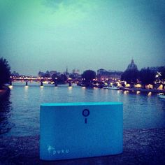 Paris on the Banks of Le Siene #pukuS8Charger #pukucharger #teampuku
