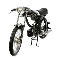 Custom Moped by 1977 mopeds: i have to say my most favorite part is the exhaust
