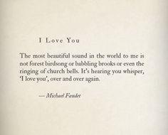 I love you <3 #michaelfaudet