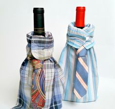 Dapper Dad Wine Bag | What a great gift for the dad who loves wine.