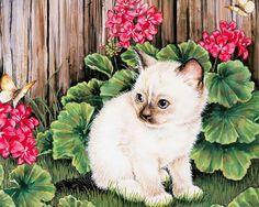 Kitten painting - Jane Maday