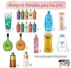 shampoo liberado para low poo