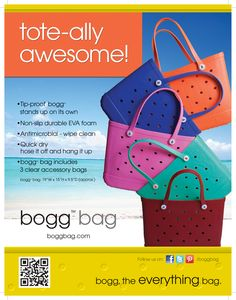 Bogg bag - Best beach bag ever - TOTE-ALLY Awesome!