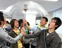 Funbrella Makes Virtual Reality Rain Inside the Umbrella | Craziest Gadgets