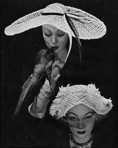 Jean Barthet (Millinery) 1952 |TammyTummyTumblr