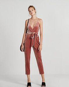b7bf2b02fb8 R29 editor pick velvet jumpsuit Velvet Jumpsuit