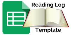 Control Alt Achieve: Student Reading Log Template with Google Sheets