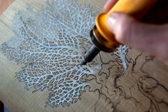 Pyrography technique