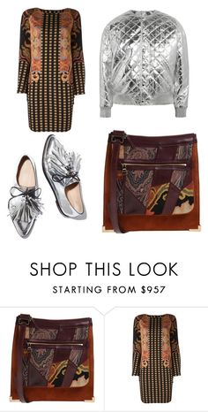 """Sans titre #1623"" by kit92 ❤ liked on Polyvore featuring Etro, Loeffler Randall and Yves Saint Laurent"