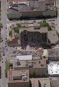 Oklahoma city bombing on pinterest vehicles firearms for Tattoo shops junction city ks