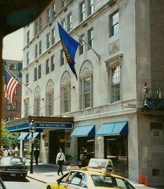 Ritz Carlton Boston. The oldest R-C in the world. Now called The Taj Boston.