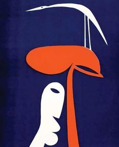 Walter Battiss, Bird, Tree, Man (ca. From Luvey 'n Rose Walter Battiss, Art Informel, South African Art, Bird Tree, Art Pictures, Art Pics, Bird Prints, Cool Artwork, Word Art