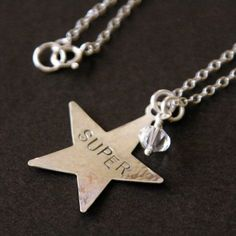 Hangs around my daughter's neck. Star Necklace, To My Daughter, Stars, My Style, Etsy
