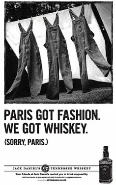 Jack Daniel's ads play up the brand's Southern U. Jack Daniels, Bourbon Quotes, Irish Language, Redneck Humor, Whisky Tasting, Best Ads, Billy Joel, Down South, Scotch Whisky