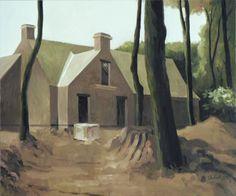 """""""Le villa du prince"""".2008, 50x60cm Oil on canvas"""