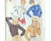 Butterick 3319 Vintage Misses Blouses Pussy Bow Pattern Size 14 Bust 36 Bow Pattern, Size 14, Sewing Patterns, Bows, Clothes For Women, Clothing, Vintage, Arches, Outerwear Women