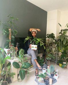Room With Plants, House Plants Decor, Plant Decor, Pretty Black Girls, Black Is Beautiful, Hippie Bedroom Decor, Black Hippy, Black Fairy, Plant Aesthetic