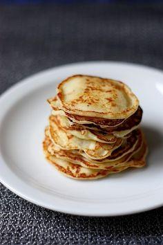 Les crêpes vonnassiennes de la Mère Blanc (Crêpes parmentières) - Petites crêpes aux pommes de terre.