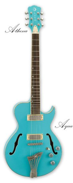 Dream Guitar: Luna-Athena Aqua [electric]