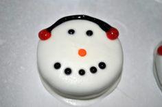 my kaotic kitchen: oreo snowmen..