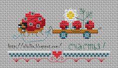 free chart ladybug and babies