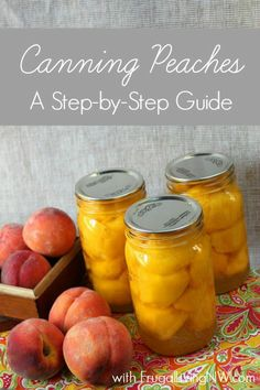 to Can Peaches Try this step-by-step guide for canning peaches!Try this step-by-step guide for canning peaches! Canning Tips, Home Canning, Canning Recipes, Frugal Living Nw, Canning Peaches, Recipe For Canned Peaches, Can Peaches Recipes, Canning Food Preservation, Preserving Food