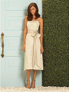 Gold Bridesmaid Dresses... Wedding ideas for brides, grooms, parents ...