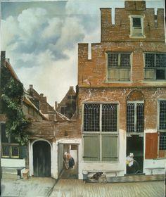 Johannes Vermeer, La stradina, 1657-58