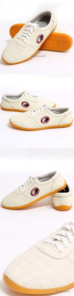 Shoes and Footwear 73989: Chenjiagou Village Leather Kung Fu Tai Chi Shoes Martial Arts Wushu Sneakers -> BUY IT NOW ONLY: $35.99 on eBay!