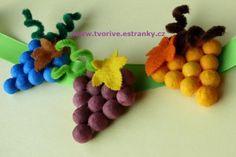 Hroznové víno / Grapes Fruit Of The Spirit, Pre School, Crafts For Kids, Autumn, Halloween, Crafts For Children, Fall, Easy Kids Crafts, Kid Crafts