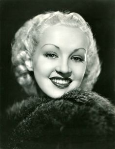 BETTY GRABLE 1936, photo by ERNEST A BACHRACH