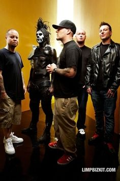 Limp Bizkit...just because I saw them doesn't mean that I still like them...just to make that clear