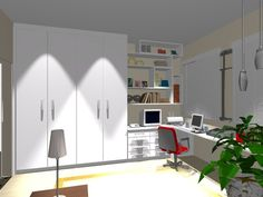Ambientes & Ideias: Home Office