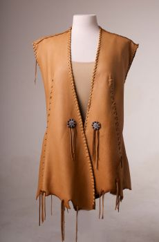 d5a173f466325 One of a kind Deer Skin Vest. (4 weeks to ship).  AE0125. Western Show  ClothesHunting ...