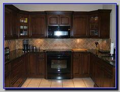 kitchens with black appliances rh pinterest com