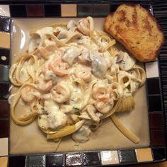 Alfredo Sauce Recipe by dkeith Alfredo Recipe, Alfredo Sauce, Homemade Alfredo, Shrimp Recipes, Sauce Recipes, Yummy Recipes, Pasta Dinners, Meals