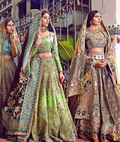 Pakistani couture by Ali Xeeshan