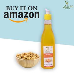 Peanut oil is the best choice when it comes to deep frying. The nutty and aromatic taste give the food the delicious flavour that you will keep digging for more. Order Now On AMAZON! #sesameoil #vedicera #healthyoil #woodpress #traditionalextract #naturalproducts #almondoil #coconutoil #peanutoil #yellowmustardoil #mustardoil #blackmustardoil #natural #pure #organic #foodporn #foodie #foodgasm #foodlover #stayhealthy #healthyfood #cookingoil #edibleoil #purity #tastyfood