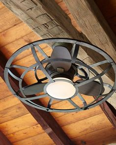 H9AGF Savoy House Alsace Outdoor Cage Ceiling Fan