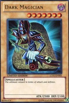 Yu-Gi-Oh! - Dark Magician (LC01-EN005...