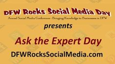 """Today is """"Ask the Expert Day"""" on the DFW Rocks Social Media Conference page. @John Nosal  of NosalCentral.com, an upcoming speaker at our 2013 event is going to be responding to your """"DIY Search Engine Optimization (SEO)"""" questions.   Post your questions below and he'll respond back to you today!"""