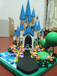 The Castle - paper quilling by ~nevertepid on deviantART