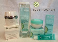Yves Rocher Hydra Vegetal Skin Care - I love the 2 in 1 face cleanser!
