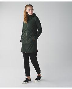 Definitely Raining Jacket in Gator Green