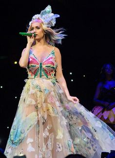 Captivating: Katy Perry's Prismatic World Tour features amazing sets and costumes such as ...