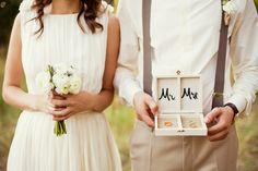 d907ed1416897e Wood Ring Boxes Barn Wedding Venue