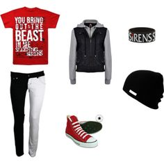sleeping with sirens (girl or guy outfit)
